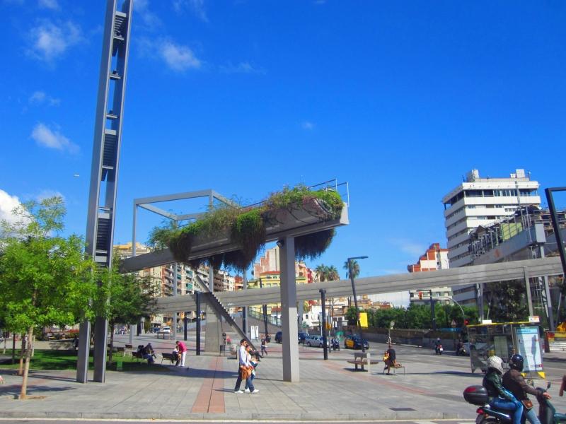 Plaza Lesseps ericagut california2iberia
