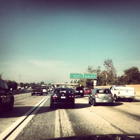 Driving in LA