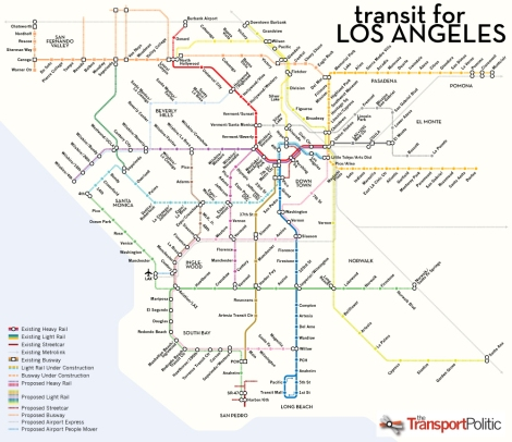 The Future of L.A. Transit