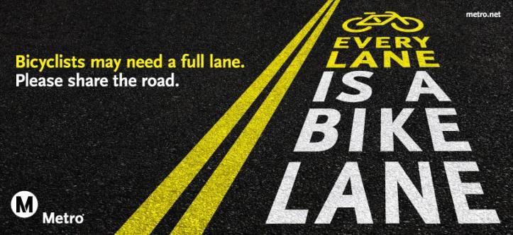 every lane is a bike lane metro Los Angeles