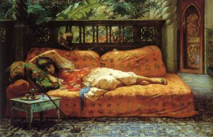 La Siesta by Bridgman