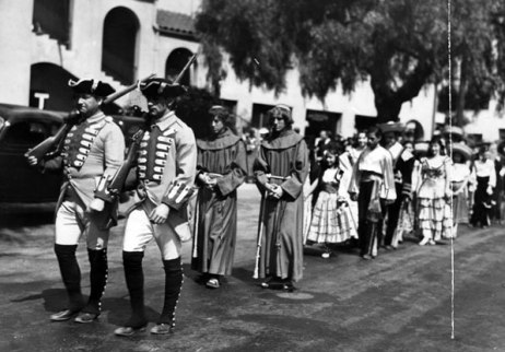 Pobladores Reenacment in 1936